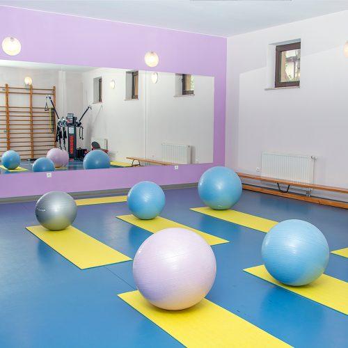 Hyrny Zakopane sala gimnastyczna
